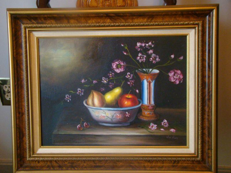 """Fruit n Flowers 12"""" x 16"""""""