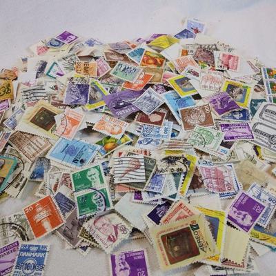 Sampler Box Full of World Stamps
