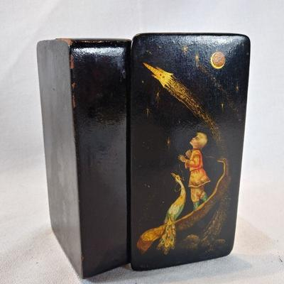 Russian Hand-Painted Box