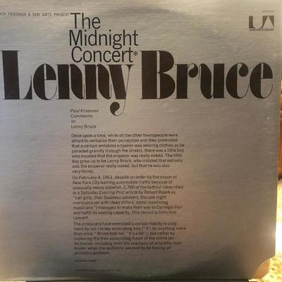 #7 Lenny Bruce - The Midnight Concert