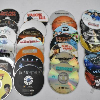 28 Movies on DVD - No Cases