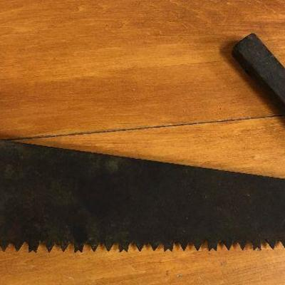 Lot #5 Antique Hand Crosscut Saw