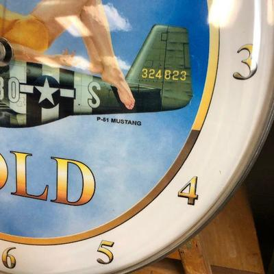 Lot #6 American Gold T51 Clock