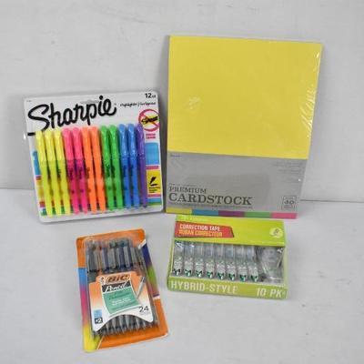 School/Office Supplies: Sharpie Highlighters, Mechanical Pencils & More - New