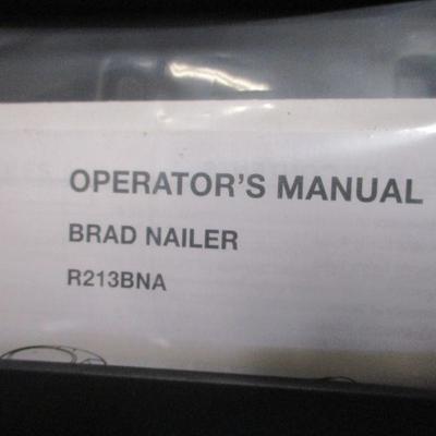 Lot 4 -  Rigid Brad Bailer