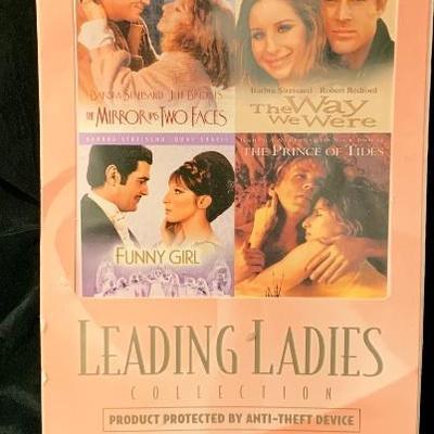 New Leading Ladies Collection Barbara Streisand Four Movies