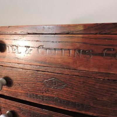 Antique Dill & Collins Counter Top Display