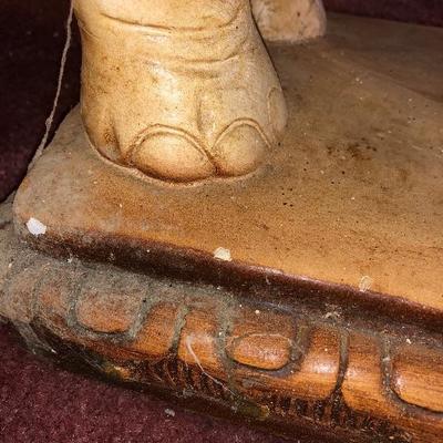 Lot 1 - Mahogany 4-Drawer Corner Shelf, Elephant, Urn, Bone China, Vase, Statue