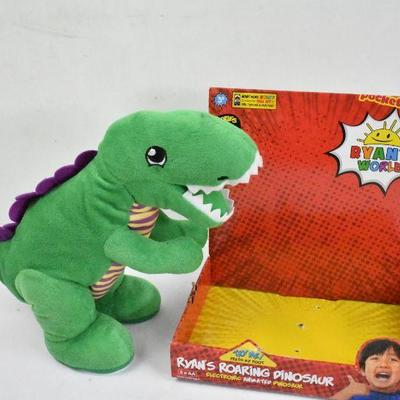 Ryan's World Roaring Dinosaur - Does NOT Roar, Open Box
