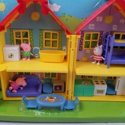 Peppa Pig's House Playset - Open Box, Complete