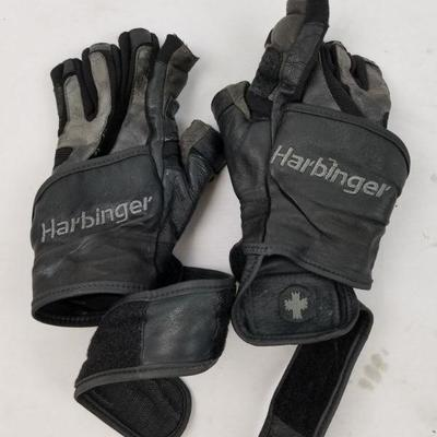 Harbinger Weight LIfting Gloves, Small - Damaged/Used