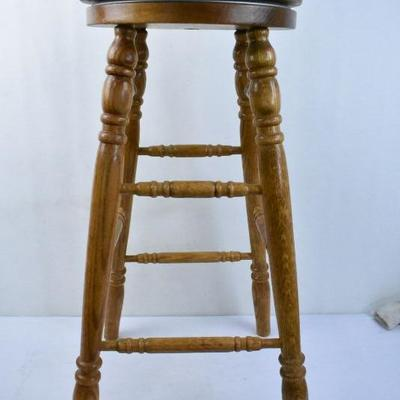 Wooden Bar Stool with Swivel Seat - Swivel Mechanism Makes Noise