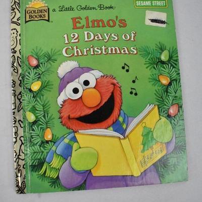 5 Piece Vintage Kids Books: Hardcover Christmas
