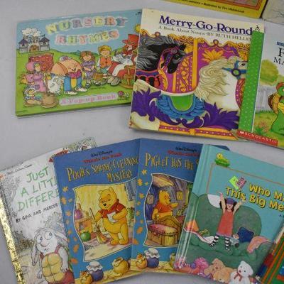 15 Piece Kids Books - Vintage