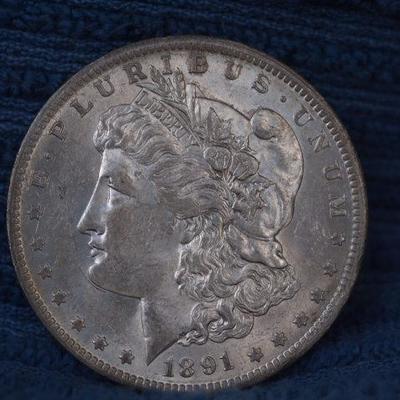 1891 O very scarce Silver Morgan 38