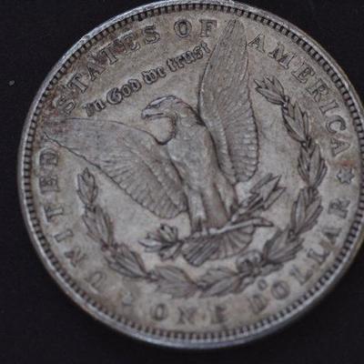 1883 S BU Morgan Silver Dollar 81