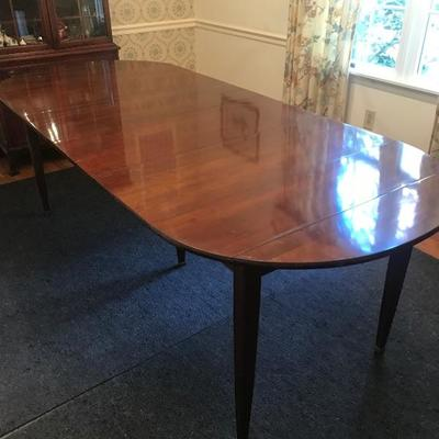 Lot #66 Cherry Dining Room Table with Extensions & Pads