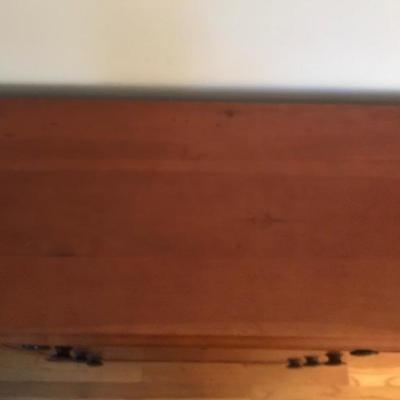 Lot #161 Antique Cherry Dresser