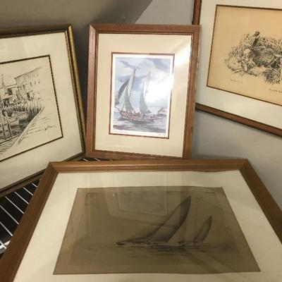 Lot#174 Lot of Art