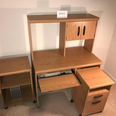 Lot # 22 office furniture