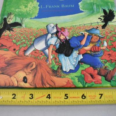 The Wizard of Oz Hardcover Book 1996 Full Color