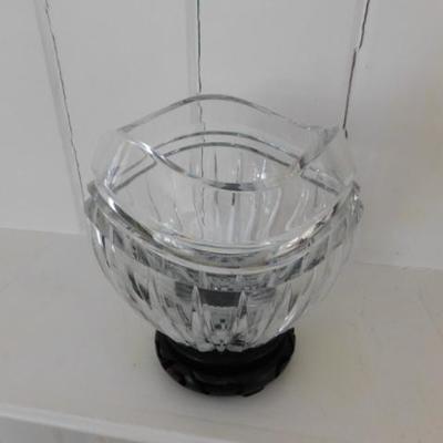Impressive Heavy Crystal Bowl 7
