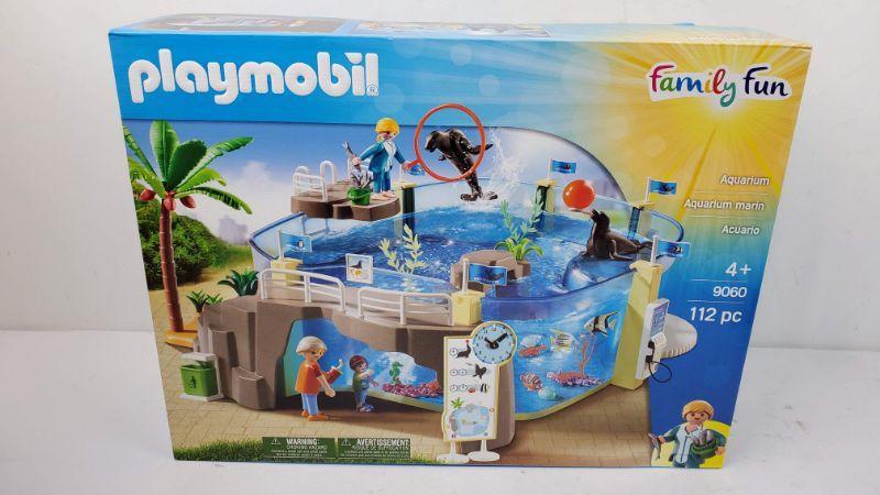 Playmobil Family Fun 9060 Aquarium marin