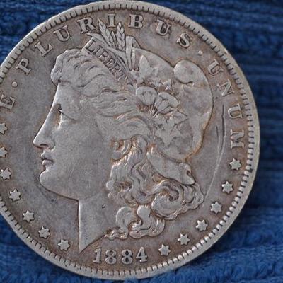 Morgan Silver Dollar 1884 O