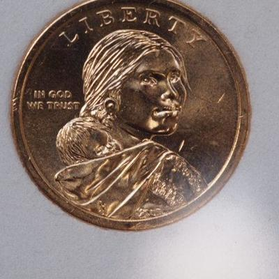 Sequoyah 1.00 coin No Date