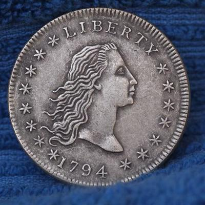 1794 Flowing Hair Bust Copy coin