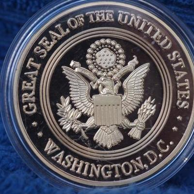 Department of Justice F.B.I. Challenge coin
