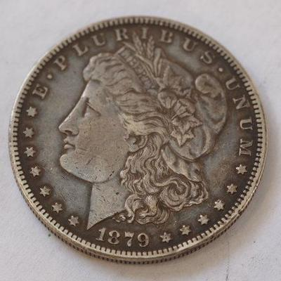 1879 S Nice toning Makes this coin stand out