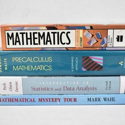 4 Math Books