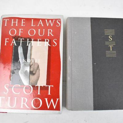 2 Hardcover Books by Scott Turow: Personal Injuries & The Laws of Our Fathers
