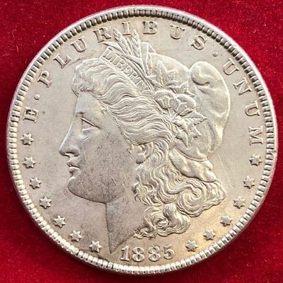 Lot #3- 1885 Morgan Silver Dollar