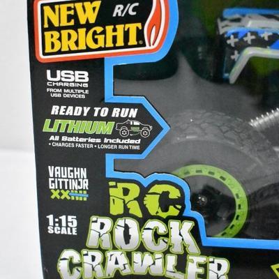 RC Ford Bronco New Vaughn Gittin Jr. Rock Crawler, by New Bright - New