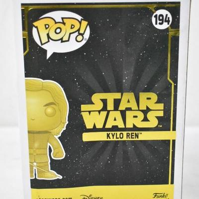 Funko POP Star Wars #194: Kylo Ren Gold Metallic Edition - New