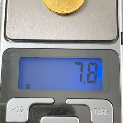 Lot # 1 Australia 1/4 Ounce Gold Coin .999 pure Kangaroo