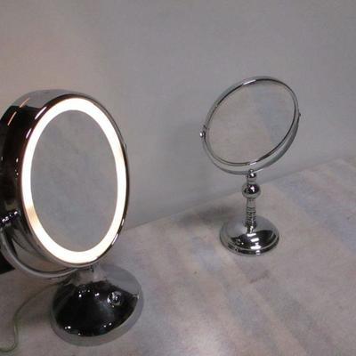 Lot 2 - Makeup Mirrors