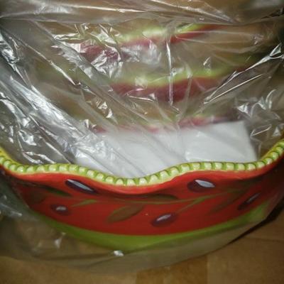 Salad Bowl and Bowls