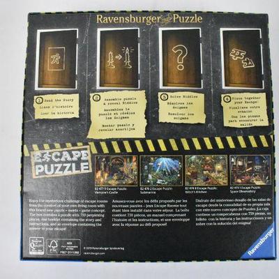 Escape Puzzle, 759 Pieces - Complete