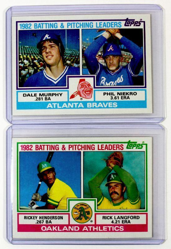 1983 topps baseball cards