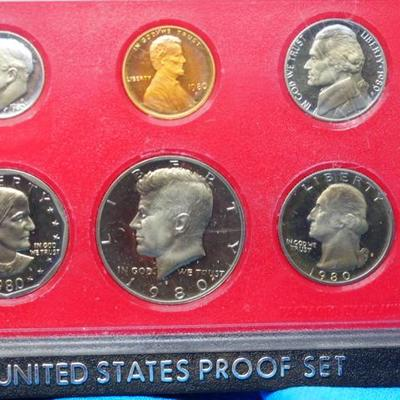 1980 United States Proof Set 2