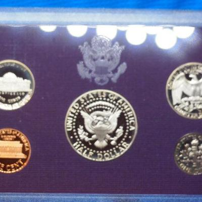 1989 United States Mint Proof set 6