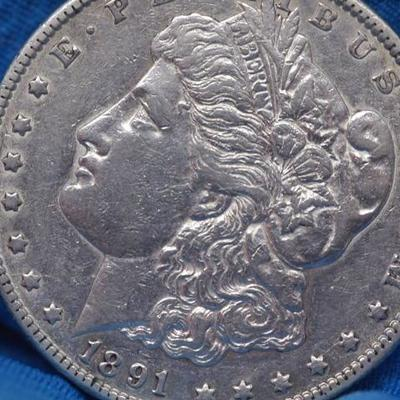 1891 Carson City Silver Morgan Uncirculated     37