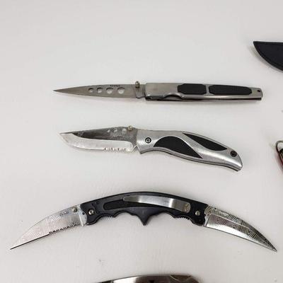 11 Knives - Pocket and Fixed Blade