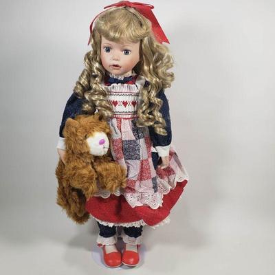 Kathy Smith Fitzpatrick Porcelein Doll - 24