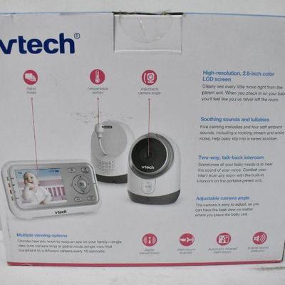 Vtech 2 Camera Video Monitor - New, Sale $108 @ Walmart