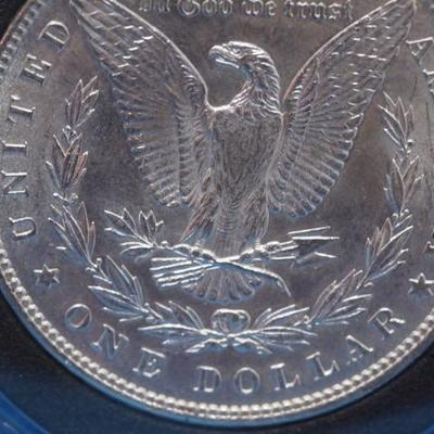 1882 P Morgan Silver Dollar Uncirculated   121