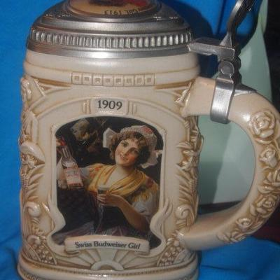 Anheuser Bush Collector Club 1997 Stein       151